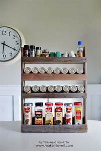 DIY Pallet Spice Rack Make It and Love It
