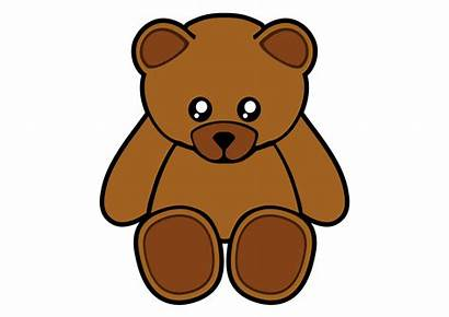 Bear Clipart Stuffed Transparent Teddy Svg Royalty