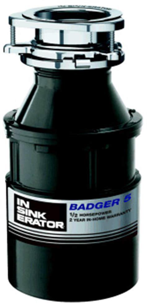 insinkerator badger5pt badger 5 garbage disposer w cord