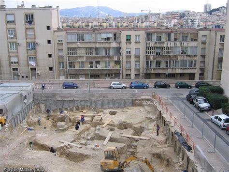 marseille cit 233 grecque les fouilles du coll 232 ge vieux port inrap