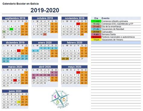 calendario escolar de galicia vigopeques