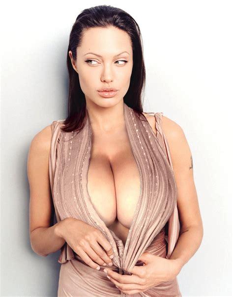 Angelina Jolie went anf got bigger implants – Big Boobs Celebrities