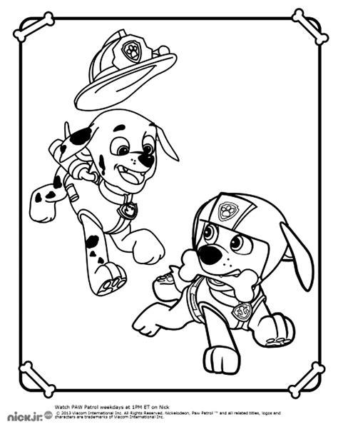 coloriages de dessins anim 233 s pat patrouille