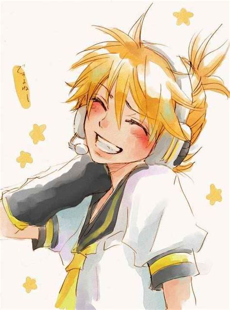 vocaloid kagamine len that smile d