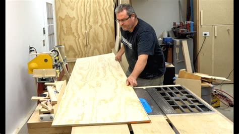 cut  large piece  plywood   table  youtube