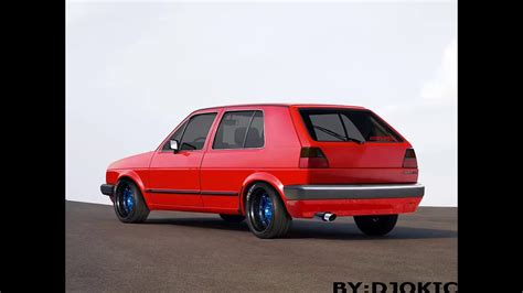 Volkswagen Golf Mk2 Tuning Cs6 Youtube