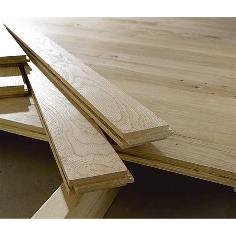 plancher en bois massif plancher massif ch 234 ne noueux l 40 et ou 80 x l 7 cm ep 23 mm leroy merlin