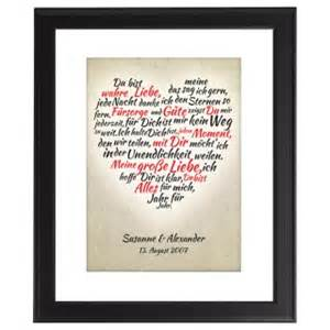 geschenk hochzeitstag frau persönliches herz bild persönliche geschenkidee für frauen und männer