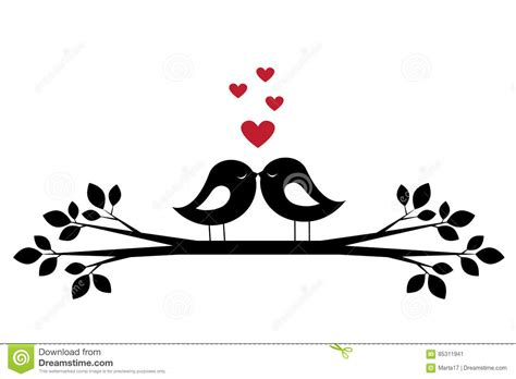 Silhouettes Cute Birds Kiss And Red Hearts Stock Vector Make Your Own Business Cards Free Uk Cpa Samples Roofing Online Cheapest Place Embossed Mockup Psd Download Visiting Design Size Inches