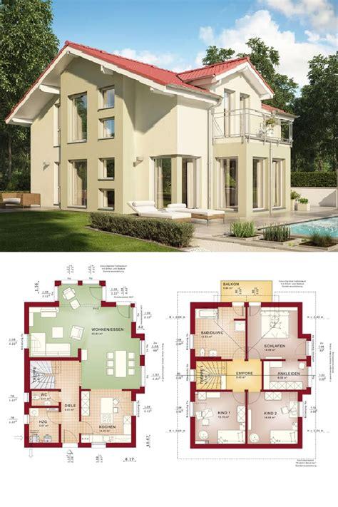 Moderne Haus Planung by Modernes Haus Mit Satteldach Einfamilienhaus Celebration