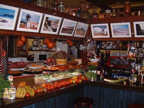 fuerteventura corralejo bidi restaurants bar tapas domingo casa