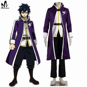Hot anime Fairy Tail Gray Fullbuster cosplay costume ...