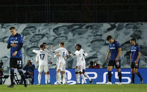 Marcador final: Real Madrid vs Atalanta: resumen, goles y ...