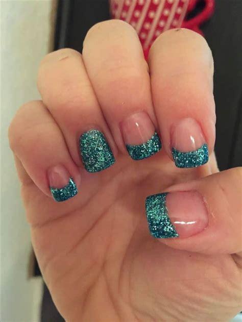 35 nail designs ideas design trends glitter solar nails trend sheideas Unique