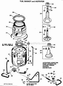 Hotpoint Wlw1500bbl Parts List And Diagram