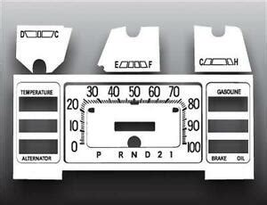 vehicle repair manual 1976 plymouth volare instrument cluster 1976 1980 plymouth volare aspen dash cluster white face gauges 76 80 ebay