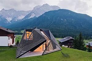 Modern, House, With, Angular-shaped, Exterior, U2013, Alma, Residence