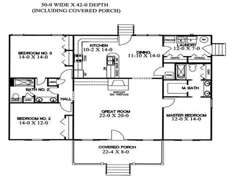 Split Bedroom Plan by Split Level Home Floor Plans House Plans With Split