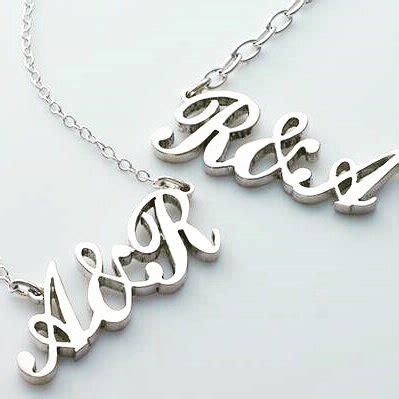 jual kalung nama inisial kalung bisa custom request nama di lapak aksesoris