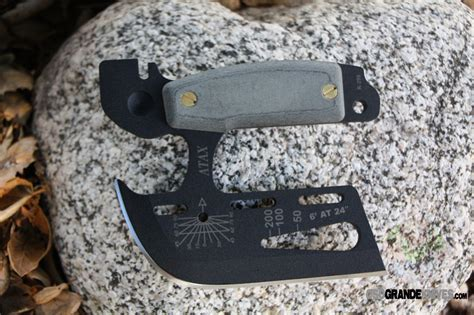 TOPS Knives ATAX 01 Hand Axe (Micarta Handle   Kydex