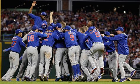 Cubs Win First World Series Title