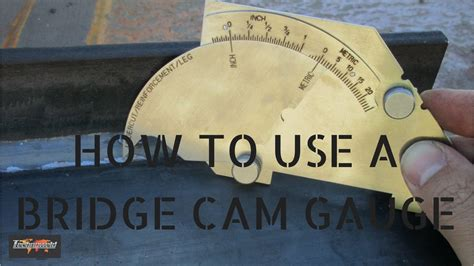 Welding Inspection Aid  How To Use A Bridge Cam Gauge Youtube