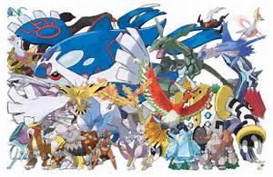 all pokemon legendaries list