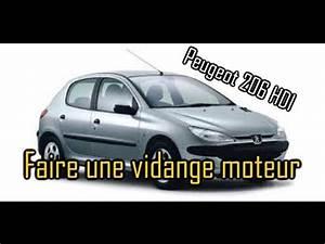 Vidange 206 : comment faire une vidange moteur sur peugeot 206 hdi youtube ~ Gottalentnigeria.com Avis de Voitures