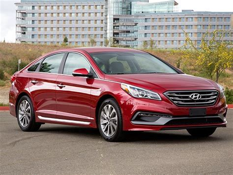 Midsize Sedan Comparison 2015 Hyundai Sonata Kelley