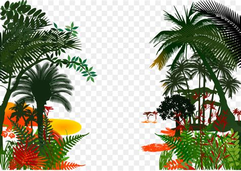 jungle royalty  clip art forestposter background