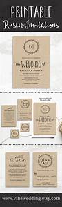 25 best ideas about rustic wedding invitations on pinterest With wedding invitation printing jacksonville fl