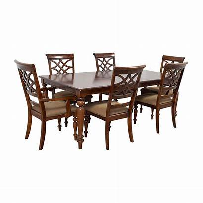 Furniture Table Dining Bob Extention Leaf Wood