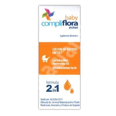 si鑒e auto formula baby compliflora baby picaturi formula 2 in 1 5 ml pamex 4260312160328 medicamente recomandate pentru probiotice si prebiotice