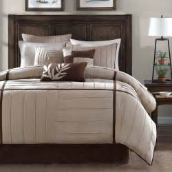 beautiful modern chic soft brown beige khaki tan texture comforter set pillows ebay