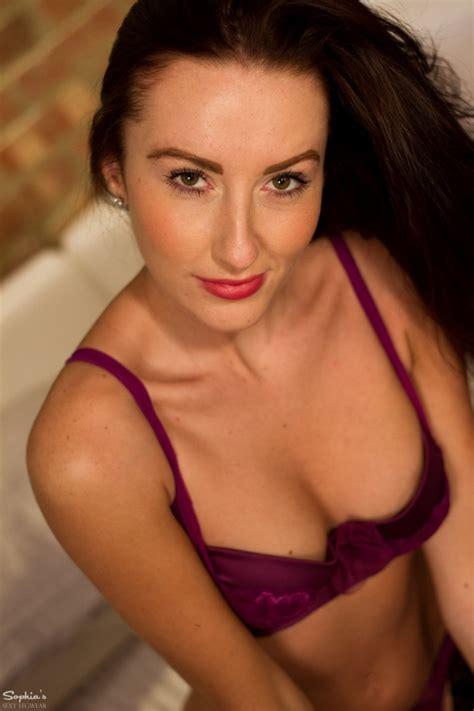 Sophia Smith Leggy Stocking Brunette
