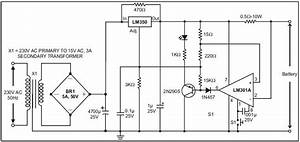 12 V Battery Charger Schematic