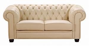Chesterfield 2er Sofa : norwich 2er sofa chesterfield couch leder beige ~ Sanjose-hotels-ca.com Haus und Dekorationen