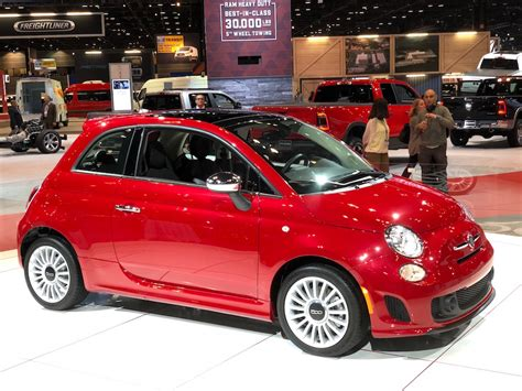 Fiat Hopes To Turbocharge Sales With Updated 500 Line