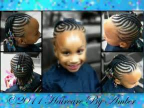 Corn Rows Hairstyles Braids for Little Girls