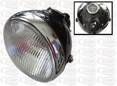 7 Inch Lucas Style Headlamp/headlight Ideal For Classic