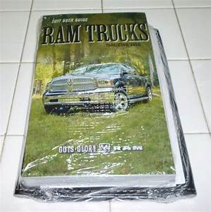 2017 17 Dodge Ram Truck 1500    2500    3500 Owners Manual
