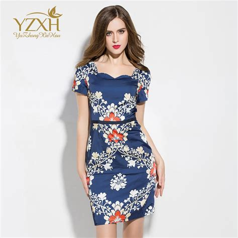 waist slim short sleeved dress young women dress party