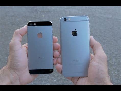 iphone 5s vs iphone 6 iphone 6 vs iphone 5s comparison 4k