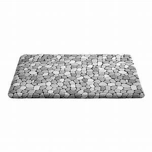 tapis de bain galets gris With tapis de bain massant