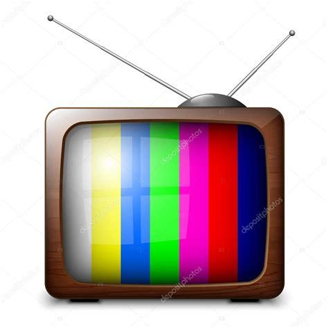 color tv 레트로 컬러 tv 스톡 벡터 169 realvector 59437827