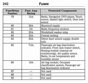 2013 Ford Focus Se Fuse Diagram