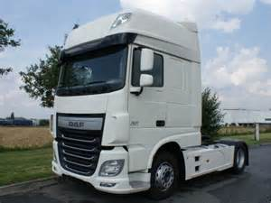 DAF XF 106 460 Superspacecab tractor unit from Czech