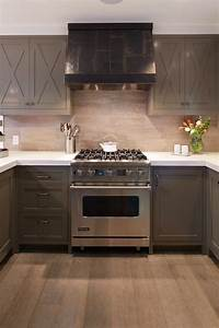 taupe cabinets contemporary kitchen artistic designs With parquet couleur taupe