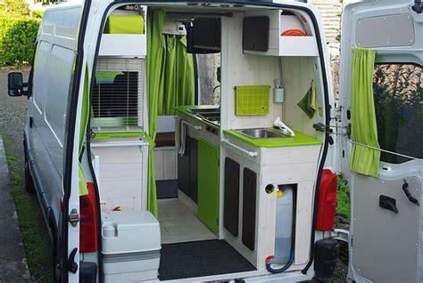 camion amenage pour cuisine kiri ki fourgon aménagé discret avec meubles amovibles