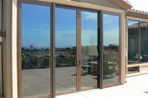 bi fold folding glass multi slide doors malibu ca